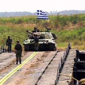 Σε συναγερμό οι Ε.Δ. – Συνεχίζονται οι ασκήσεις των τουρκικών δυνάμεων στονΈβρο