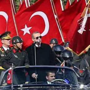 Θα «διαβεί τον Ρουβίκωνα» ο Ερντογάν: «Θα σας λιώσω -Θα σας συντρίψω – Θα σας πατήσω σανπορτοκάλι»