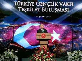 Ομιλία καταπέλτης κατά Ερντογάν ο οποίος κατηγορείται για συνεργασία με ομάδες της ΑλΚάϊντα!