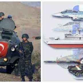 Το οπλοστάσιο Ελλάδας και Τουρκίας σε αριθμούς. Τι στρατιωτικές δυνάμεις και ποια πλεονεκτήματα διαθέτει η κάθεπλευρά.