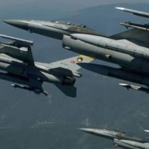 Τουρκικές παραβιάσεις πάνω από το Αιγαίο με οπλισμέναF-16