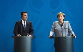 Μέρκελ: Πολύ κοντά σε λύση στο θέμα της ονομασίας τηςΠΓΔΜ