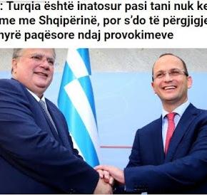 Αλβανία: «Η Τουρκία είναι νευρική που η Ελλάδα λύνει τα προβλήματα με τουςγείτονες»