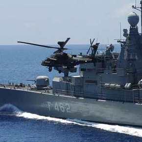 Κρίσιμες ώρες: Φορτώνονται με πυραύλους και πλέουν προς το νοτιοανατολικό Αιγαίο πλοία τουΠΝ