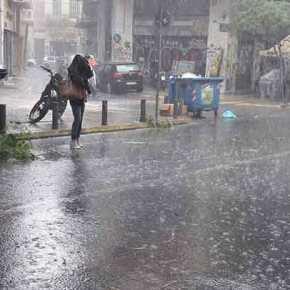 Εκτακτο δελτίο επιδείνωσης καιρού – Ισχυρές βροχές καικαταιγίδες