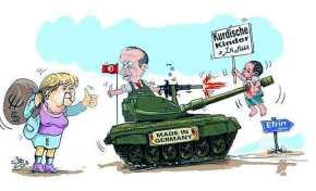 ΝΑΤΟ και Δύση, αυτοί είναι οι Τούρκοι σύμμαχοί σου! Βίντεο από την Αφρίν και κείμενο κόλαφος απόΙταλία!