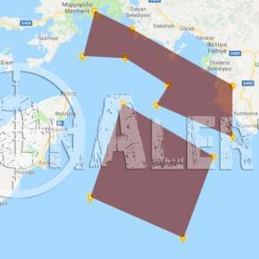 Τουρκική πρόκληση: Ναυτικός αποκλεισμός του Καστελόριζου για ασκήσεις μεπυρά
