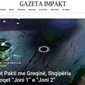 Στη διαφάνεια η Συμφωνία με την Ελλάδα, η Αλβανία λαμβάνει τα μπλοκ Ιόνιο 1 και Ιόνιο2