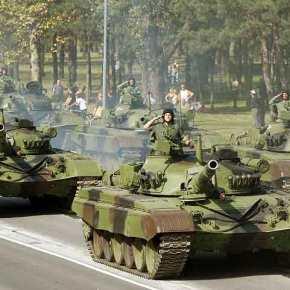 Περίεργη χρονική «σύμπτωση»: Η Σερβία μετακίνησε άρματα μάχης στα σύνορα με τοΚόσοβο