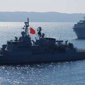 Τουρκική φρεγάτα στις ακτές της Εύβοιας – Αμερικανικό αντιτορπιλικό μπήκε ανάμεσα σε Έλληνες καιΤούρκους