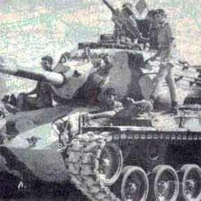 «Οι Τούρκοι πυροβολητές δεν μας πετύχαιναν ούτε από τα 80 μέτρα. Αστοχούσαν και ξεσπούσαμε σεγέλια».