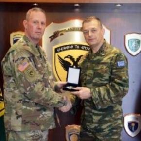 Στο ΓΕΣ ο υποδιοικητής της 21ης ΔΥΔΜ του Στρατού των ΗΠΑ στηνΕυρώπη