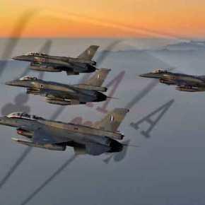 «Ενέδρα» Ελληνικών F-16 σε τουρκικά μαχητικά – Αερομαχία στο Καστελόριζο – Άμεση απάντηση τηςΕλλάδας