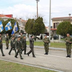 Ο στρατηγός Βασίλειος Παπαδόπουλος ανέλαβε την διοίκηση της XVI Μεραρχίας στοΔιδυμότειχο