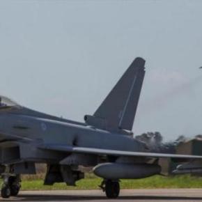 Ηνίοχος 2018: Eurofighter Typhoon της RAF για πρώτη φορά στην Ανδραβίδα –ΦΩΤΟ