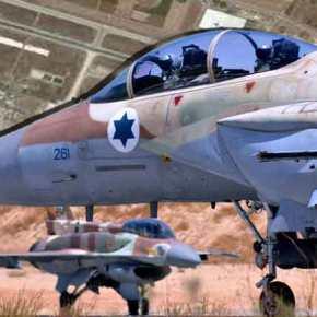 Ισραηλινά μαχητικά στην αεροπορική βάση τηςΠάφου