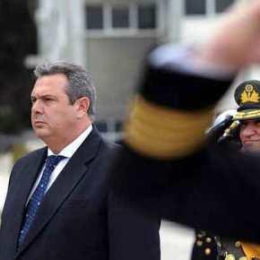 Καμμένος προς Άγκυρα: Θα συντρίψουμε όποιον τολμήσει να αμφισβητήσει την εθνική μας κυριαρχία(βίντεο)