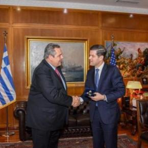 Συνάντηση Καμμένου με τον ΥΦΥΠΕΞ των ΗΠΑ – Συζήτησαν για τους 2στρατιωτικούς