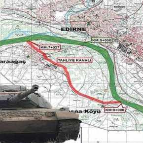 Την κατάληψη της Αντιαρματικής Τάφρου των Τούρκων στο Κάραγατς…Έχουν σχεδιάσει οι Ελληνικές Ένοπλες Δυνάμεις απο τον Ιούλιο του2017!