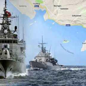 Η Άγκυρα περικυκλώνει το Καστελόριζο: Τριήμερη «πολιορκία» με πραγματικάπυρά