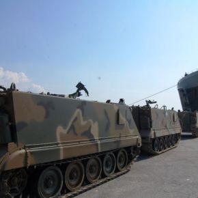 ΕΚΤΑΚΤΗ ΕΙΔΗΣΗ – Φορτώνονται άρματα μάχης, MLRS και τεθωρακισμένα σε αρματαγωγά του Π.Ν – Κρίσιμεςώρες!