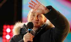 «Σάρωσε» ο Β.Πούτιν: Εξελέγη για τέταρτη φορά πρόεδρος της Ρωσίας με το απίστευτο ποσοστό του 76,65% – Έστειλε μήνυμα στηΔύση