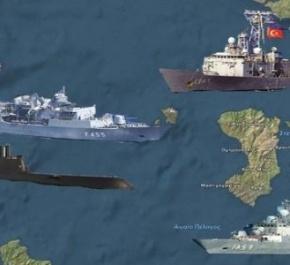 Σενάριο ή πραγματικότητα; Δείτε πως θα ήταν ένας ολομέτωπος πόλεμος Ελλάδας Τουρκίας(βίντεο)