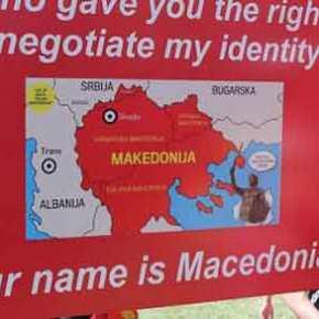 «Ξέφυγαν» οι Σκοπιανοί στην Αυστραλία: Θέλουν «Μακεδονία» μέχρι την Λάρισα! – Καίνε πάλι ελληνικές σημαίες!(βίντεο)