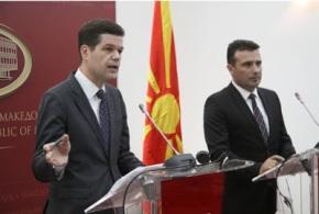 Γουές Μίτσελ στα Σκόπια: Μόνιμη λύση στο όνομα θα είναι μόνο μια κοινήλύση