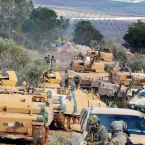 Συρία: Προ των πυλών του Αφρίν ο τουρκικόςστρατός