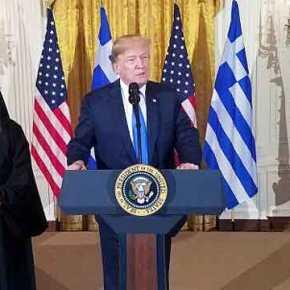 Τράμπ: «Ο Θεός να ευλογεί την Ελλάδα και τιςΗΠΑ