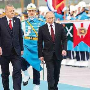 Πούτιν – Ερντογάν: Mία «φιλία» στην σκιά 500 ετώνσυγκρούσεων