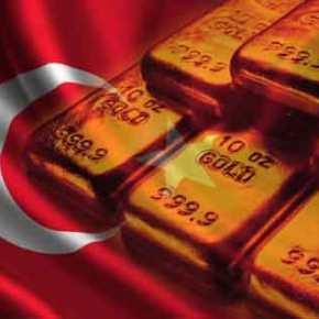 Η Άγκυρα απέσυρε όλα τα αποθέματα της σε χρυσό από τις ΗνωμένεςΠολιτείες