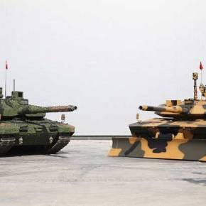 """Η Τουρκία ανακοίνωσε την ανάδοχο εταιρεία για το """"εθνικό"""" άρμα μάχηςALTAY"""