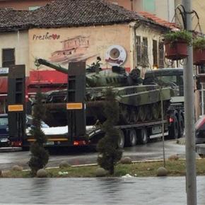 Οι Αλβανοί της νότιας Σερβίας ανησυχούν για την παρουσία τουστρατού
