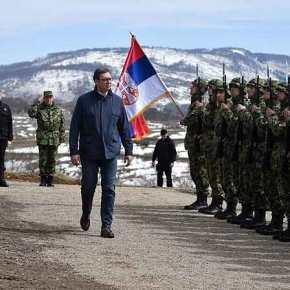 Κροταλίζουν τα σερβικά όπλα: Φωτιά και ατσάλι από το Βελιγράδι με το βλέμμα στον διαμελισμό του Κοσόβου – Βίντεο καιεικόνες