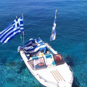 Μαρτυρία από Φούρνους: «Η ελληνική σημαία είναι πεσμένη κάτω από τοκοντάρι»