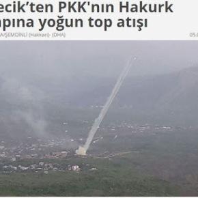Τουρκία: Ο στρατός βομβάρδιζε επί 25 λεπτά στο βόρειοΙράκ