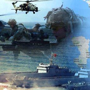 Υπερσυγκέντρωση τουρκικών ναυτικών και στρατιωτικών δυνάμεων απέναντι από τηΧίο