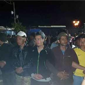 Μετά τον ξεσηκωμό των κατοίκων το κράτος «ξύπνησε»: Συνελήφθησαν οι μετανάστες-καταληψίες εθνικούεδάφους