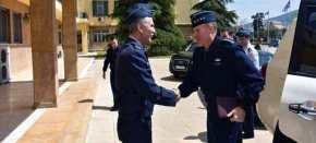 Συνάντηση του αρχηγού ΓΕΑ με τον Αμερικανό διοικητή των αεροπορικών δυνάμεων τουΝΑΤΟ