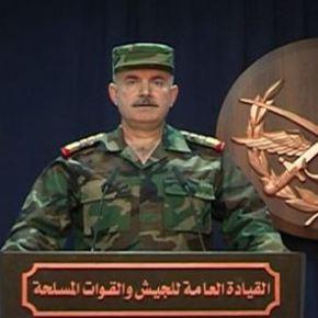 Γενικό Επιτελείο Συρίας: Οι περισσότεροι πύραυλοιαναχαιτίσθηκαν