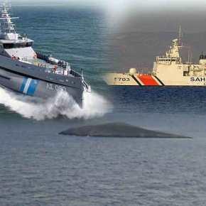 Στήνουν θερμό επεισόδιο οι Τούρκοι – Σκάφος της τουρκικής Ακτοφυλακής προσπάθησε να εμβολίσει πλωτό του Λιμεναρχείου τηςΧίου