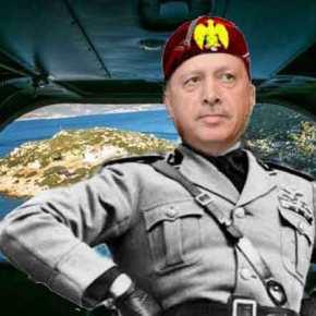 """Το Καστελόριζο και το """"σύνδρομο Μουσολίνι"""" τουΕρντογάν"""