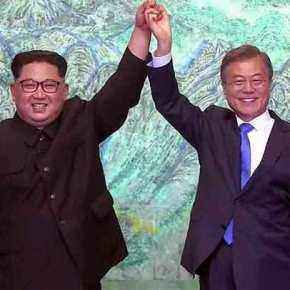 Ιστορική συμφωνία ειρήνης ανάμεσα σε Βόρεια και ΝότιαΚορέα