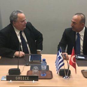Μήνυμα Κοτζιά στην ΠΓΔΜ χωρίς αναφορά στην Τουρκία μετά τη σύσκεψη στοNATO