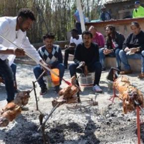 Λέσβος: Πασχαλινή γιορτή για τουςς 300 χριστιανούς πρόσφυγες τουνησιού