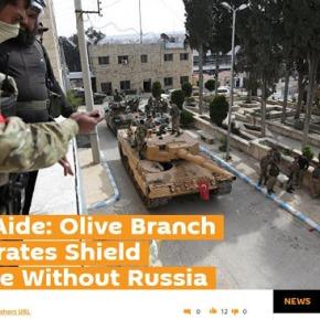 Βοηθός Ερντογάν: Χωρίς τη Ρωσία ήταν αδύνατες «Ασπίδα του Ευφράτη» και «ΚλάδοςΕλαίας»