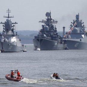 Συρία: Αποχωρούν Ρωσικά πλοία υπό την απειλή της επέμβασης ΗΠΑ – Βρετανίας –Γαλλίας