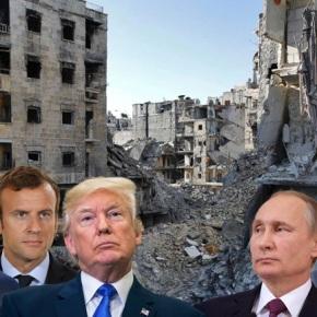 Η επόμενη μέρα του βομβαρδισμού τηςΣυρίας